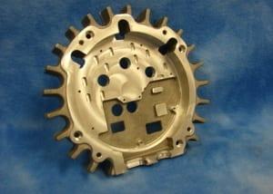 Custom aluminum part