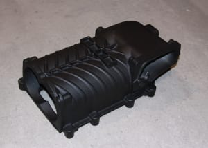 Supercharger housings