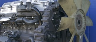 Diesel Engine with Aluminum Parts